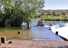 Ord River at Ivanhoe Crossing - near Kununurra.don't mind the Crocs! Visit Australia, Western Australia, Australia Travel, Tasmania, Places To See, Places Ive Been, Great Barrier Reef, Beautiful Beaches, Travel Inspiration