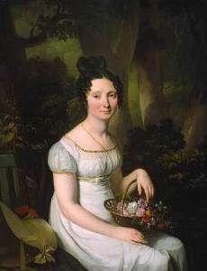 Louis Léopold Boily - portrait de femme - 1820 - collection particulière