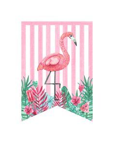 Flamingo baby Flamingo Party, Flamingo Craft, Flamingo Birthday, Birthday Diy, Family Party Games, Flamingo Wallpaper, Tropical Party, Printable Designs, Unicorn Party