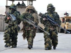 В ужасной форме: 7 видов военной экипировки, способной запугать до смерти. Изображение №6.