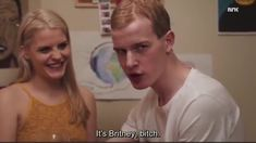 "eskild: ""don't you think i'm gonna set off some gaydars?"" noora: ""no. oh my god. don't worry"" eskild:"