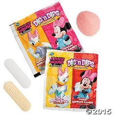 Dig 'N Dips Minnie Mouse And Friends Candy