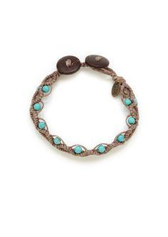 On ideeli: TAI Stone Braided Bracelet