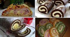 Chystáte sa na Veľkú noc pripraviť nejaké dobroty v podobe rolád? Zozbierali sme pre vás tie najlepšie recepty na rolády, ktoré vám budú určite chutiť. Rolády sú veľmi obľúbenou pochúťkou... Party Food Trays, Czech Recipes, Ethnic Recipes, Different Salads, Chocolate Slice, Food Garnishes, Holidays And Events, Food Art, Appetizer Recipes
