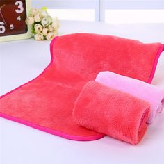 Items similar to Reusable Eraser Makeup Remover Towels Make up Cleaning Towel Cloth Micro Fiber on Etsy Clean Makeup, Simple Makeup, Makeup Remover Towel, Remove Makeup From Clothes, Cloth Pads, Facial Cleansing, Clean Face, Delicate, How To Remove