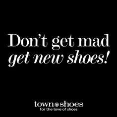 Shoes always make us feel better! #shoeaholic #shoequotes