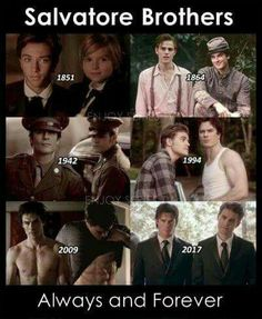 They copied the originals it doesn't fit them sorry Elijah and klaus have done a lot of hurting to each other and they still stand side by side