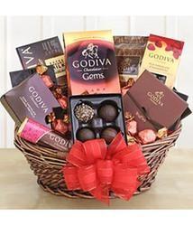 Classic Holiday Godiva Gift Basket  $79.98 #pintowingifts