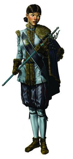 [Ethengarian?] Ochalean military cmdr/ldr., 'Corunglain region ('probably related to Otasura (of Twofold House)  [OdetteduBois.jpg (470×1024)]
