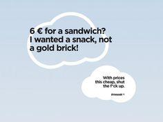 Ryanair:  Sandwich