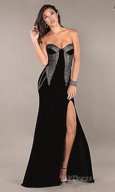 Homecoming Dress # Black Dress # Long Dress #