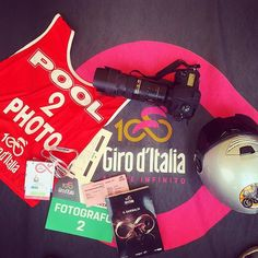 source instagram tdwsport  Ready for the best Grand Tour of the year @giroditalia #fightforpink #giro100 #girorosa #cycling #photographer #motodriver #press #media #credentials  tdwsport  2017/05/05 17:44:41