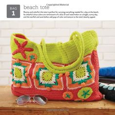 Amazon.co.jp: 10 Granny Squares 30 Bags: Purses, totes, pouches, and carriers…