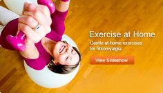 Gentle at-home exercises for fibromyalgia