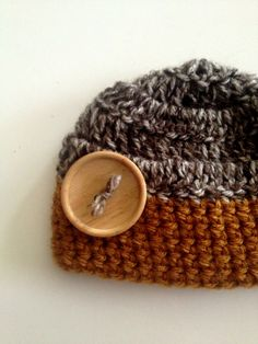 Crocheted newborn's hats are great for photo prop or to just be stylish!!  by TwistedCrochetaz
