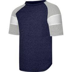 Hanes X-Temp Boys' Short Sleeve Raglan T-Shirt, Size: Medium, Blue
