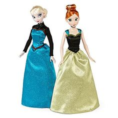 Elsa and Anna Doll Set from JC Penney's (released October 2014)