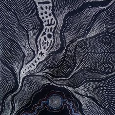 'My Country' by Australian Aboriginal artist Anna Price Petyarre Synthetic polymer paint on Belgium linen, 60 x 60 cm. via Coo-ee Aboriginal Art Gallery Aboriginal Painting, Aboriginal Artists, Dot Painting, Indigenous Australian Art, Indigenous Art, Native Art, Art Plastique, Doodle Art, Art Drawings