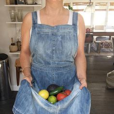 How adorable does our owner/buyer, Caroline, look in her Citizens of Humanity x diani living denim apron?? You can snag one of these beauties for yourself in store at DIANI Living or over on our website!