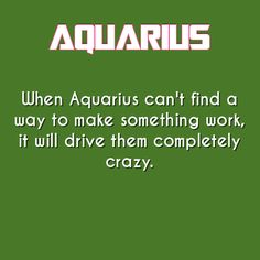 aquarius daily astrology fact More