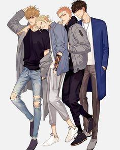 Anime Boys, Manga Boy, Manga Anime, Anime Art, 19 Days Anime, 19 Days Manga Español, 19 Days Characters, Anime Characters, Levi X Eren