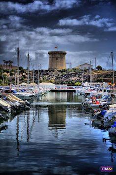 Torre de La Illeta vista desde el Puerto por Tomás Talavera @tommytm22