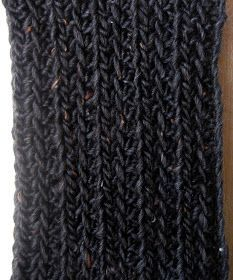 Crochet scarf - hdc ribbed scarf pattern