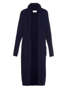 Chunky ribbed-knit wool-blend cardigan | Raey | MATCHESFASHION.COM US