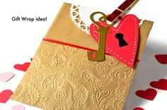 Buffet candy bag kraft paper. 100 embossed candy bags by TodoPapel
