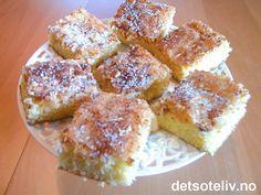 Perlesukkerkake | Det søte liv Scones, Granola, Nom Nom, French Toast, Baking, Breakfast, Food, Morning Coffee, Bakken
