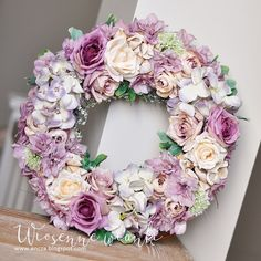 Shabby Chic Kranz, Shabby Chic Wreath, Diy Spring Wreath, Diy Wreath, Tulip Wreath, Floral Wreath, Lantern Centerpiece Wedding, Vintage Wreath, Wedding Wreaths