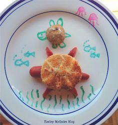 A Turtle's Tale Snack Plate for Kids + GIVEAWAY @Supergluemom @KeeleyMcG