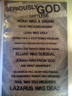 I think my favorite is that Isaiah preached naked... haha