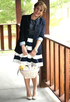 In love with this Easter outfit from Coffee Beans and Bobby Pins :)