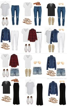 Norway summer wardrobe