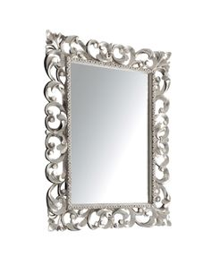 The.Artceram Barocca, mirror with silver frame #bathroom