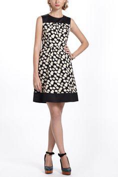 Notched Dots Cord Dress / Anthropologie.com #nye2013
