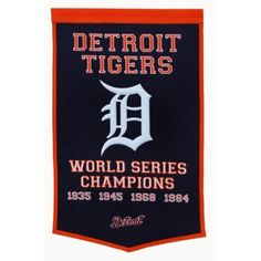 "Detroit Tigers MLB ""Dynasty"" Banner"
