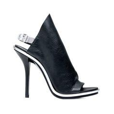 Balenciaga Glove Open Toe Sandal Black  #balenciaga #sandal