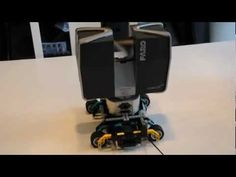 LEGO powered 3D laser scanner