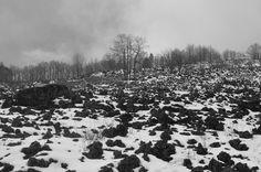 Etna winter landscape