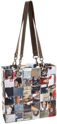 Nahui Ollin Small Box Tote, Magazines, one size: Handbags: Amazon.com