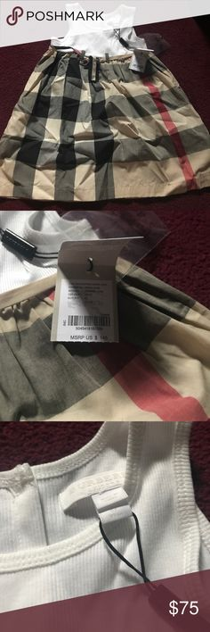 Burberry Dress This a great dress for a little girl. BRAND NEW. NEVER WORN Burberry Dresses Casual