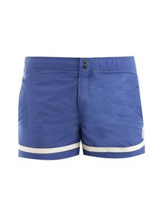 Fancy - Moncler // Banded hem swim shorts