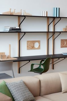 British designer Jasper Morrison has created a home for a fictional inhabitant inside the VitraHaus in Germany.