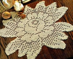 Items similar to PDF Vintage 'Rose Garden' Lacy Filet Crochet Doily Crochet Pattern, Floral, Motif, Home Decor, Victoriana soo.Beautifulx on Etsy Doily Patterns, Vintage Patterns, Knitting Patterns, Filet Crochet, Crochet Dollies, Pineapple Crochet, Crochet Tablecloth, Retro Home Decor, Crochet Hearts