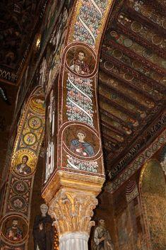 Orthodox Icons, Roman Empire, Arcade, Goth, Tower, Columns, Old Art, Romance Art, Mosaics