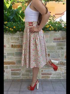 """ #handmade #skirts #springsummer17 #famavolat #withlove #passion #bowdetails """