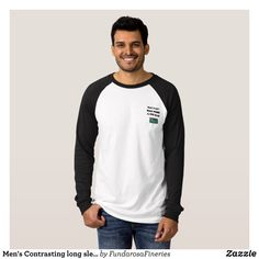 Men's Contrasting long sleeve Want Truth T-Shirt - Heavyweight Pre-Shrunk Shirts By Talented Fashion & Graphic Designers - #sweatshirts #shirts #mensfashion #apparel #shopping #bargain #sale #outfit #stylish #cool #graphicdesign #trendy #fashion #design #fashiondesign #designer #fashiondesigner #style