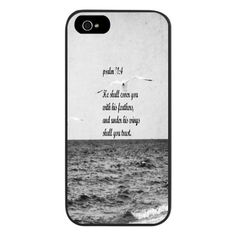 Psalm 91 Phone Case Scripture Art Iphone Cover Bible Verse Quote Samsung Galaxy Christian Nature Nautical Cover Feathers Wings Trust on Etsy, £21.58